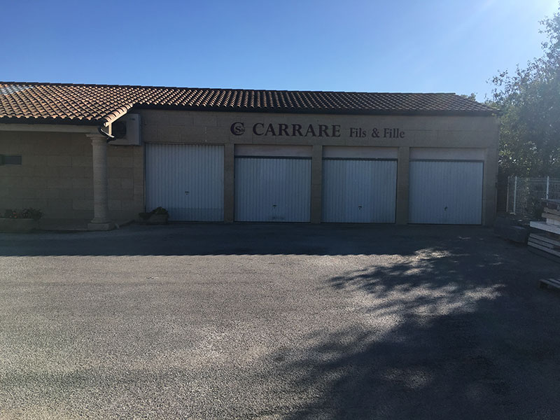 portes de garages batiment carrare Fils & Fille